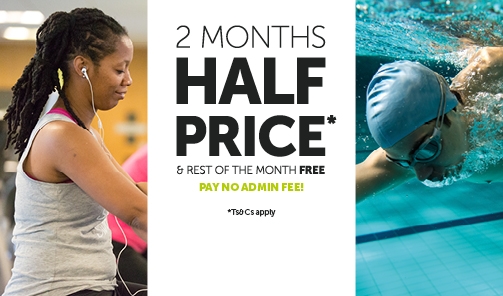 Rest of the month free and next 2 months half price
